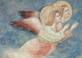 Giotto : les Anges de l'Annonce aux bergers | Ange gardien, Art à thème ange,  Sculpture d'ange